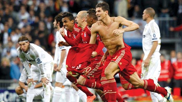 Real Madrid 2(1) -1(3) Bayern Munich – Bayern set up historic final