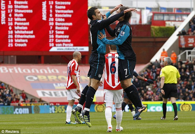 Stoke City 1-1 Arsenal – Arsenal inch closer to sealing 3rd spot