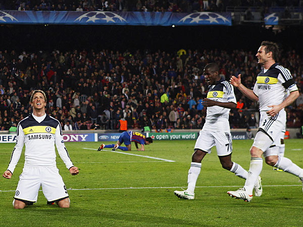 Barcelona 2-2 Chelsea – Blues scrape their way past Barca to final