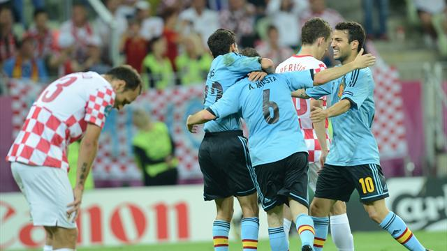Group C – Croatia Makes Spain Sweat, Italy Outshines Ireland