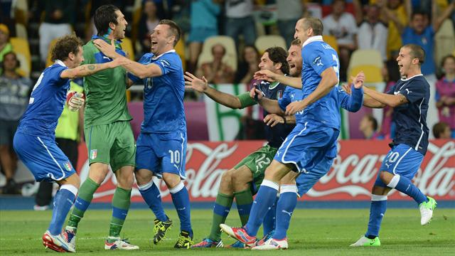 Italy Outshoots England in Penalties After a Goalless Draw