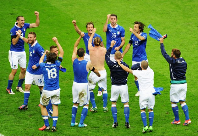 Italy Demolished Germany to Enter Final